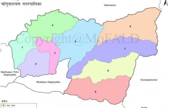 GIS Map of Changunarayan Municipality